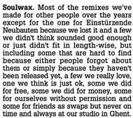 "Soulwax ""Most Of The Remixes"" (2007) / remixes, dance"