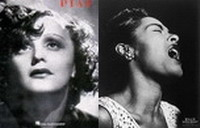 Billie Holiday + Edith Piaf / Jazz, vocal jazz, jazz blues / cabaret