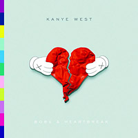Kanye West - 808s & Heartbreak(2008)/pop, minimal