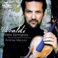 Antonio Vivaldi: The Four Seasons / 3 Violin Concertos - Giuliano Carmignola / Venice Baroque Orchestra / Andrea Marcon (2000) / classical