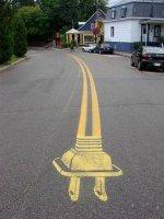 "Roadsworth - ""Вулиця мистецтва"""