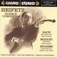 "Jascha Heifetz ""Heifetz Double Concertos"" RCA Living Stereo / classic music"