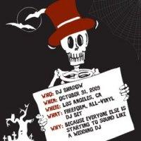 "DJ Shadow ""Live in Los Angeles 10/31/09"" (2010) / рэпхопдрочь"