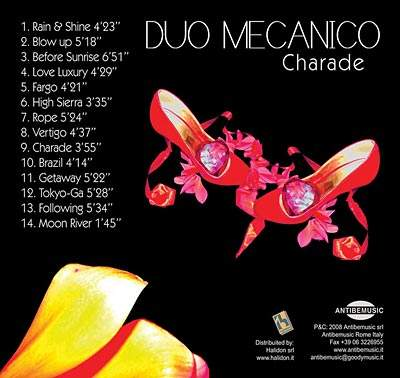 Duo Mecanico – Charade (2008) / Lounge, Downtempo, Chillout
