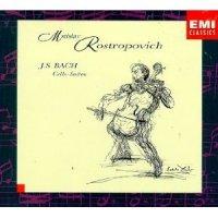 """Mstislav Rostropovich """"Bach: Cello Suites"""" (1995) / classical"""