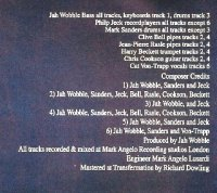 Jah Wobble and Deep Space Network - Five Beat (2003) / future jazz, dub, free jazz, ambient dub