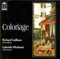 "Richard Galliano & Gabriele Mirabassi ""Coloriage"" (1992) / jazz, tango"