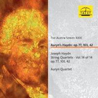 "Auryn Quartet, Joseph Haydn ""Joseph Haydn String Quartets op. 77, 103, 42 SQ op.77"" (2011) /classical"