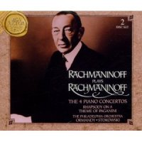 Rachmaninov Plays Rachmaninov: The 4 Piano Concertos (1994) / classical