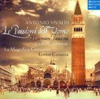 """Enrico Casazza, LaMagnifica Comunità Ensemble  - Antonio Vivaldi """"Le Passioni dell'Uomo"""" (2011) / classical"""