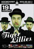 The Tiger Lillies 19 ноября. Питер. Космонавт. Rime of the Ancient Mariner - (2012)  / dark cabaret, punk