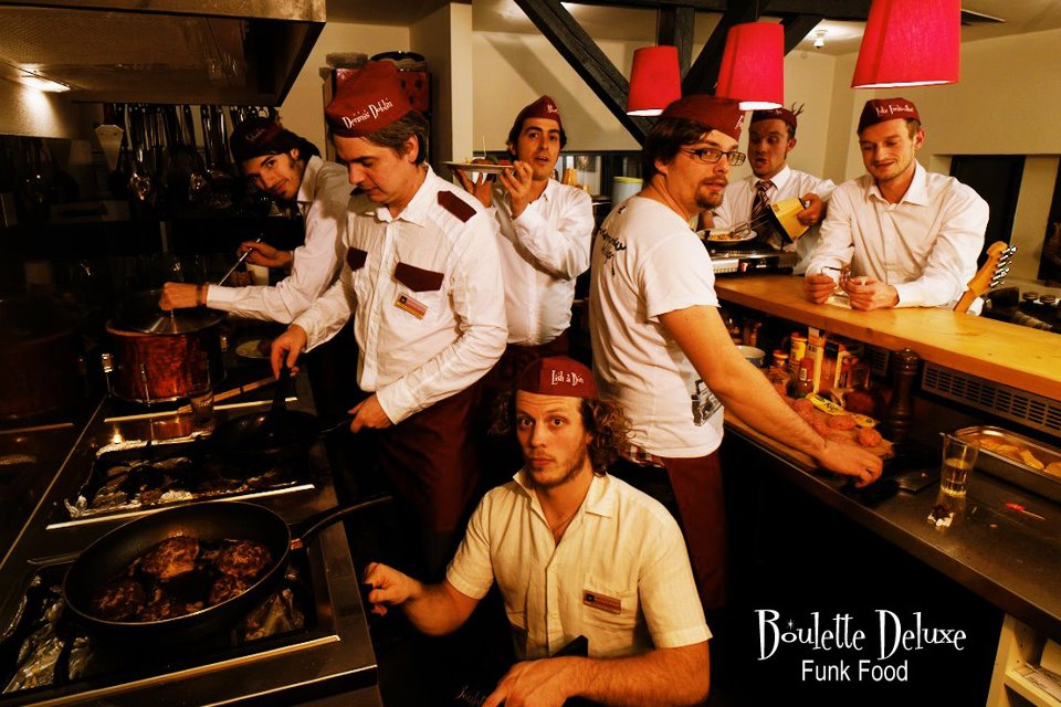 Boulette Deluxe - Funk Food (2013)/ experimental, acid jazz, funky, hip-hop
