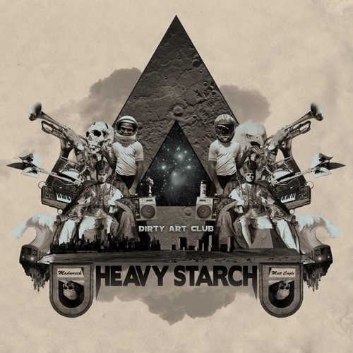 Dirty Art Club - Heavy Starch LP/ Hexes EP (2011-2012) / Electronic, Instrumental, Downtempo, Hip Hop