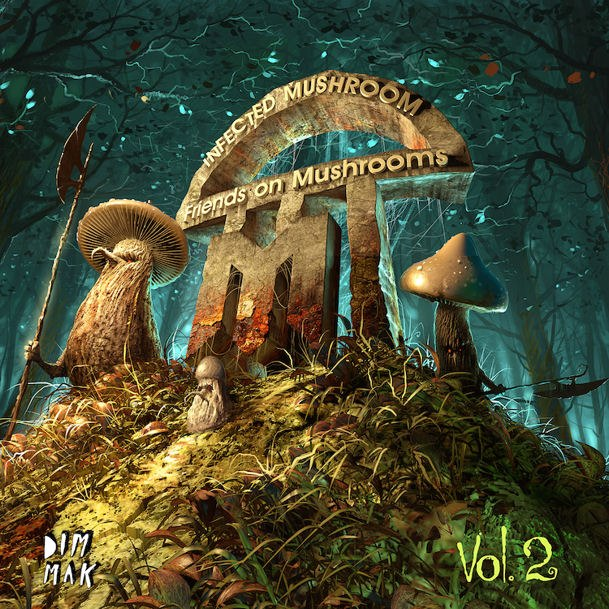 Infected Mushroom – Friends on Mushrooms (2013) / House, Electro, Psychedelic, Goa
