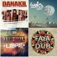 Новинки французского реггей/ 4 альбома: Danakil, Jah Gaia, I Woks Sound &  Faya Dub / Reggae, Roots, Dancehall, Instrumental Reggae, France