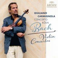 Johann Sebastian Bach performed by Concerto Köln & Giuliano Carmignola - J.S. Bach - Violin Concertos (2014) / classical