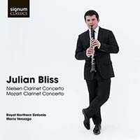 Julian Bliss - Clarinet Concertos Nielsen & Mozart (2014) / Classic