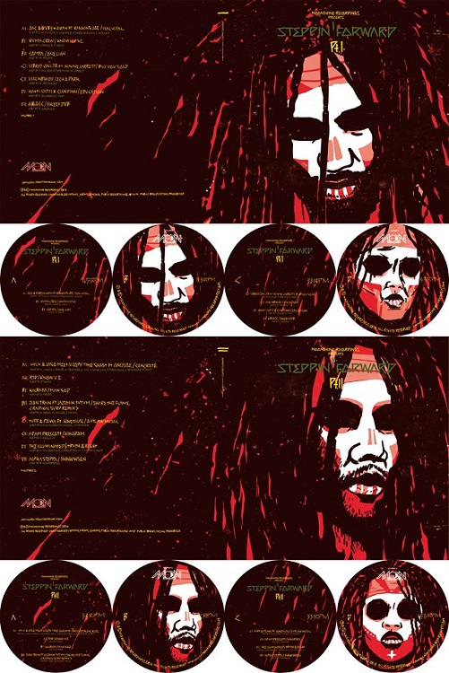 VA - Steppin' Forward (2014) / bass, dub, dubstep, reggae