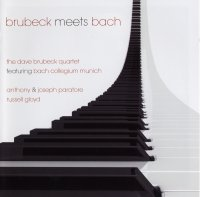 Dave Brubeck Quartet - Brubeck Meets Bach (2CD) (2007) / Classical, Jazz