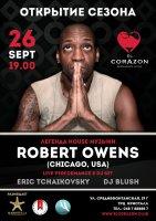 26 сентября, суббота, ROBERT OWENS | Одесса, ресторан EL CORAZON