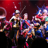 Mucca Pazza (marching band, circus brass)