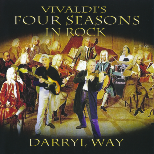 Darryl Way - Vivaldi's Four Seasons In Rock (2018) / Classical, Rock